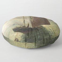 Marie-Auguste Flameng - Untitled Floor Pillow