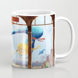 Giant mermaids. Coffee Mug