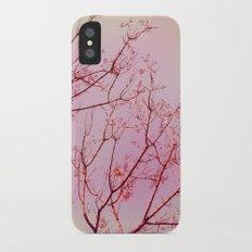 Pink Skies II iPhone X Slim Case