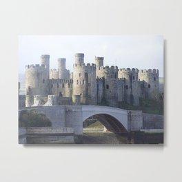 Conwy castle Metal Print