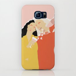 Best Friends and Wine iPhone Case