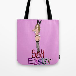 Sexy Easter Tote Bag