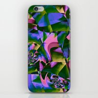 jungle iPhone & iPod Skins featuring Jungle by Truly Juel