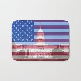 United States Capitol Building Bath Mat