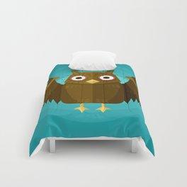 Vector Owl Comforters