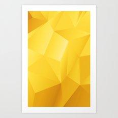 Patternyellow 1000 Art Print