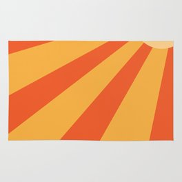 summer striped sun Rug