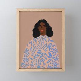 The Sweater Framed Mini Art Print