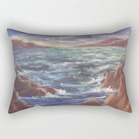 Lighthouse in the Distance AC150426 Rectangular Pillow