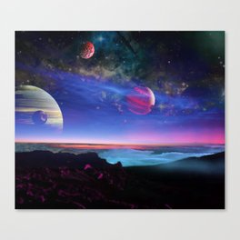 From the Moons of Jupiter Canvas Print