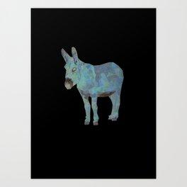 Animal Slang - Donkey Art Print