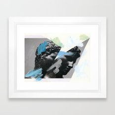 Untitled (Painted Composition 1) Framed Art Print