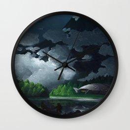 Freshwater Lake Wall Clock