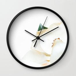Botanical Magnolia in Color 2 Wall Clock