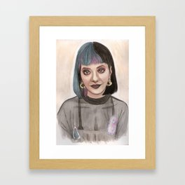 MelanieMartinez Framed Art Print