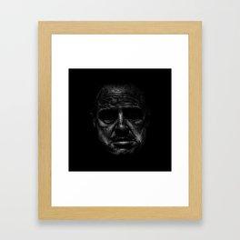 Godfather (B&W) Framed Art Print