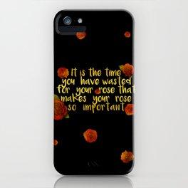 rose #1 iPhone Case