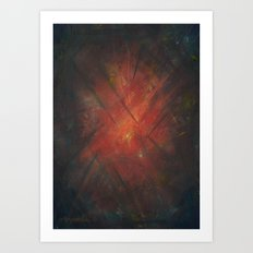 By the Campfire Art Print