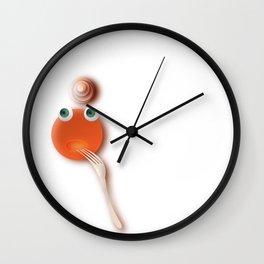 Lady Pancake Wall Clock