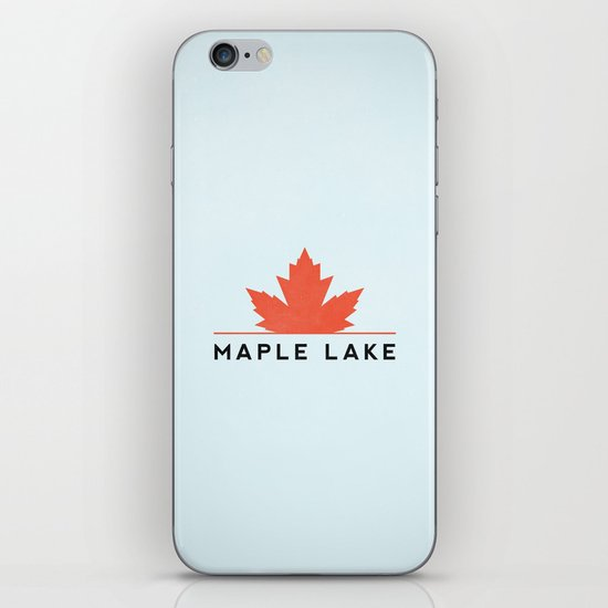 Maple Lake iPhone & iPod Skin