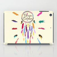dreamcatcher iPad Cases featuring Dreamcatcher by O. Be