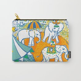 Elephant Act Carry-All Pouch