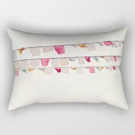 prayer flags no. 2 Rectangular Pillow
