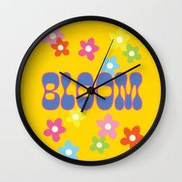 BLOOM - FLOWER GARDEN Wall Clock