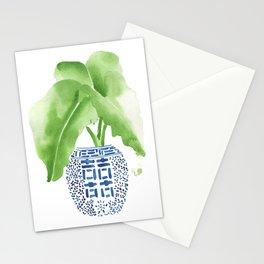 Ginger Jar + Elephant Ears Stationery Cards