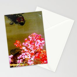 Fish Behind Glass Stationery Cards