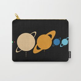 Planets And Moons To Scale Carry-All Pouch