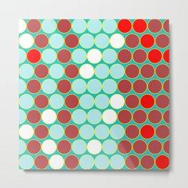 Alternating circles Metal Print