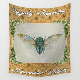 The Cicada Wall Tapestry