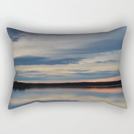 Sunset at Renforth Wharf Rectangular Pillow