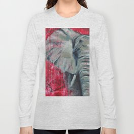 A Shade of Red Long Sleeve T-shirt