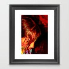 3 Melissas Framed Art Print