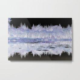 Negative Image (Mind's Eye) Metal Print
