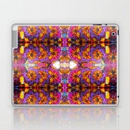 paper mache floral Laptop & iPad Skin