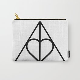 The Deathly Hallows - Heart Carry-All Pouch