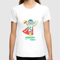 super hero T-shirts featuring Super Hero 2 by La Lanterne