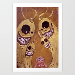 Intimidación Art Print