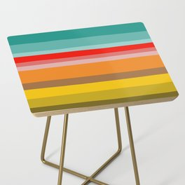 Color Stripes Side Table