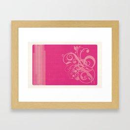 StrawfullySweet Framed Art Print