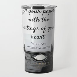 Wordsworth Quote Travel Mug