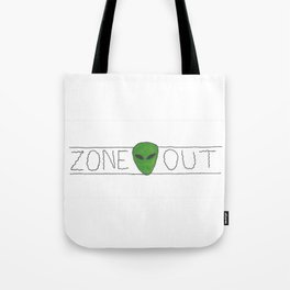 Zone Out Tote Bag