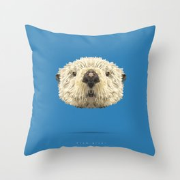 Clam giver Throw Pillow