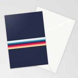 Simply Striped (navy) Stationery Cards