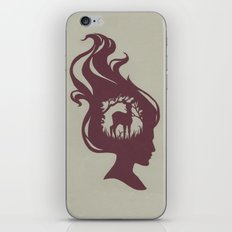 Deer Girl iPhone & iPod Skin