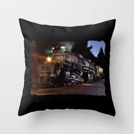UP 4014. Union Pacific.  Steam Train Locomotive. Big Boy. © J. Montague. Throw Pillow