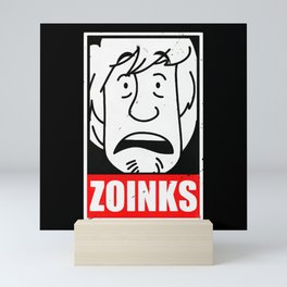 zoinks Mini Art Print